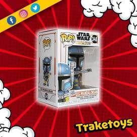 Figura Heavy Infantry The Mandalorian de Star Wars Funko Pop Movie