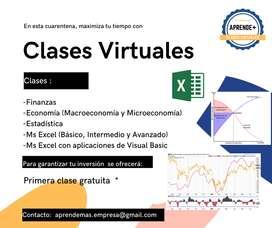 Enseñanza del Ms Excel y programación en Visual Basic