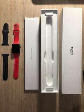 Apple Watch Series 3 Gps+celular 42mm Gris Espacial