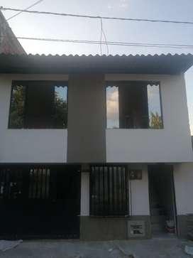 cambio casa de dos aptos independientes por finca cerca a Pereira o Dosquebradas