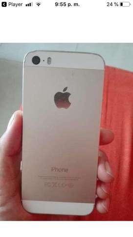Vendo iphone 5s dorado en buen estado negociable