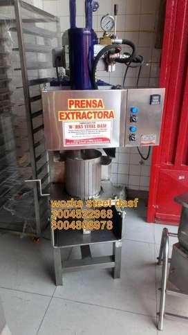 mezclador silo basuca tostadora marmita descascarilladora refinador prensa desplumadora hiladora despulpadora meson