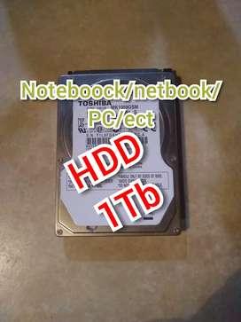 Disco rígido HDD 1tb