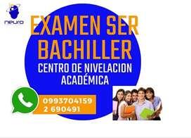 SE NECESITA PROFESORES PARA PREPARAR EXAMEN SER BACHILLER DCHGT3