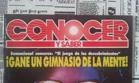 Revista Conocer Y Saber N 30 Año 1991 Gimnasio De La Mente