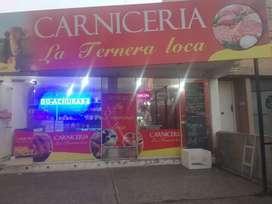 VENDO CARNICERIA COMPLETA FUNCIONANDO