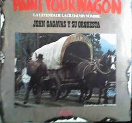 JOHN CACAVAS Y SU ORQUESTA – PAINT YOUR WAGON – VINILO AUDIOMAX