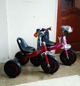 Triciclo Pedal cod 8686 Coche Pedales Carro Pefal