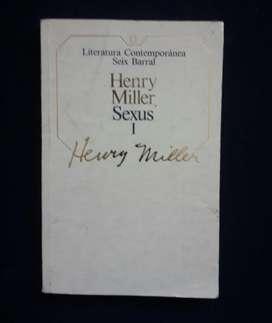 Sexus tomo 1 por Henry Miller