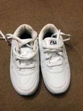 Zapatos Fila pra niñ@