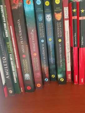 Colección libros los gatos guerreros (2-6)