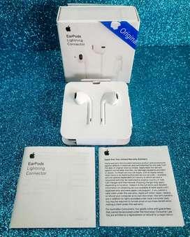 Audífonos earpods Apple Lightning para iPhone iPod iPad