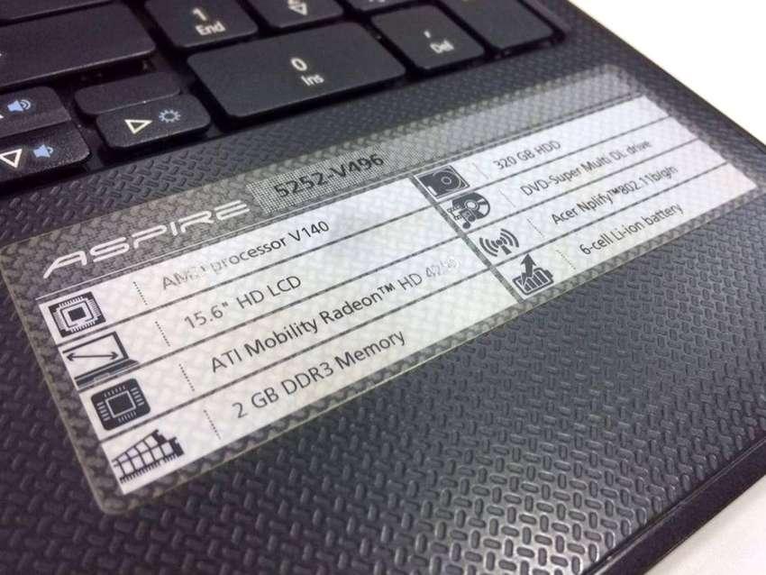 Notebook Acer 5252v496 para repuesto 0
