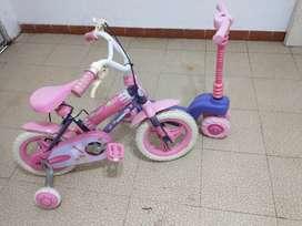 Bicicleta + Monopatin
