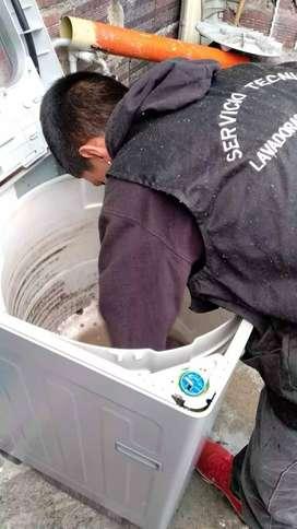 Reparación mantenimiento lavadoras secadoras
