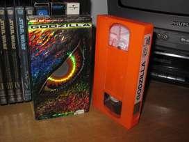 Godzilla  - VHS 1998 - Jean Reno