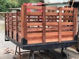 Carroceria para camioneta. Dimax - toyota- frontier