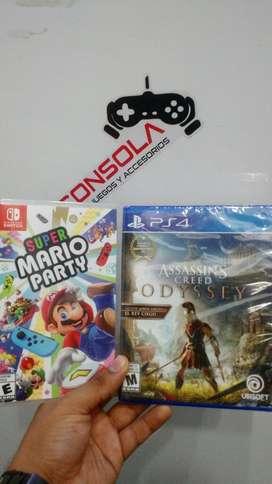 Ac Odyssey Y Mario Party