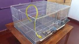 Jaula 2 módulos conejo