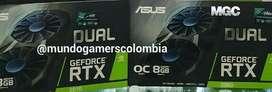 Tarjetas de Video Nvidia Geforce PC Gaming Gtx 1650 1660 Pc Gamer RTX 2080 MGC