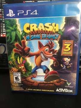 Crash Bandicoot N Sane Trilogy 3 Juegos Ps4 Fisico