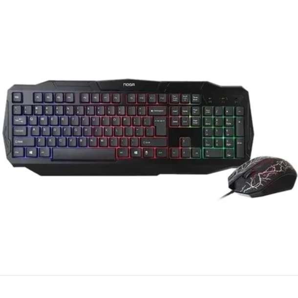 Kit De Teclado Y Mouse Gamer Noga Nkb-570
