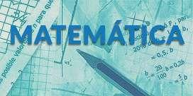 Clases particulares de Matemática Nivel Secundario