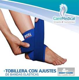 Tobillera con Ajustes de Bandas Elásticas - Body Care