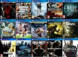 Vendo juegos de PS4 y PS3 consultar dijitales