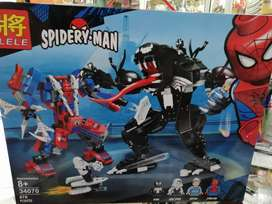 Lego  amable SPIDERMAN VS VENOM