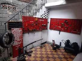 Vendo montaje para taller de motos