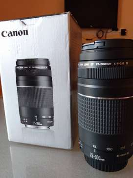 Lente Canon EF 75-300mm f/4.56 III