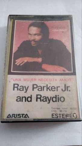 Cassette de Ray Parker Jr & Raydio A woman needs love / Una mujer necesita amor de 1981