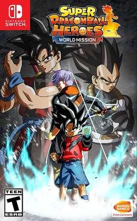 Super Dragon Ball Heroes World Mission Switch Nuevo y Sellado