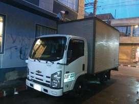 Vendo nhr 2014 aislado furgon