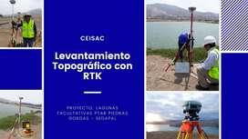 SERVICIO LEVANTAMIENTO TOPOGRÁFICO CON RTK