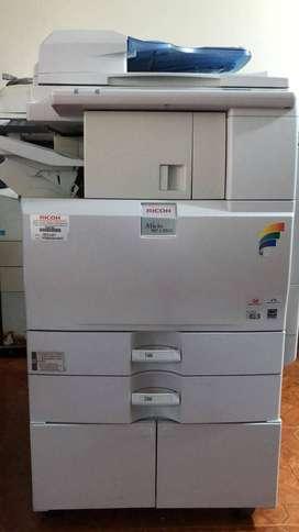 Fotocopiadora Multifuncional Ricoh Mpc 2551 (Reacondicionado)