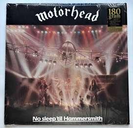 Motörhead / No Sleep' Til Hammersmith (live) Lp 180 Gramos