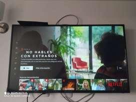 "TV CHALLENGER 43"" Pulgadas 108 CM 43LL49 LED FHD Smart TV plano Negro"