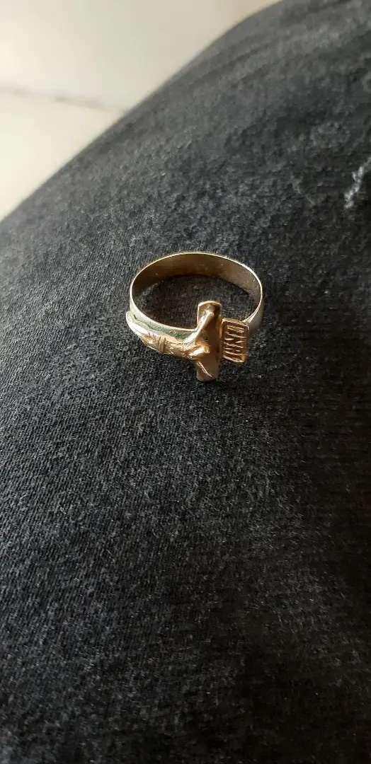 Vendo anillo oro 0