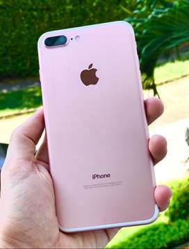 iPhone 7 Plus 128 Gb Rosado / Como nuevo- Garantia de 3 meses , MEGA PROMO !!
