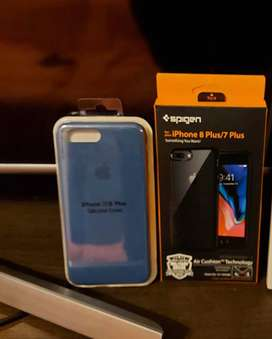 Case Iphone 7 plus o 8plus Spigen / Silicone