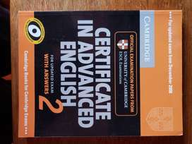 Libro Certificate In Advanced English 2 With Answers