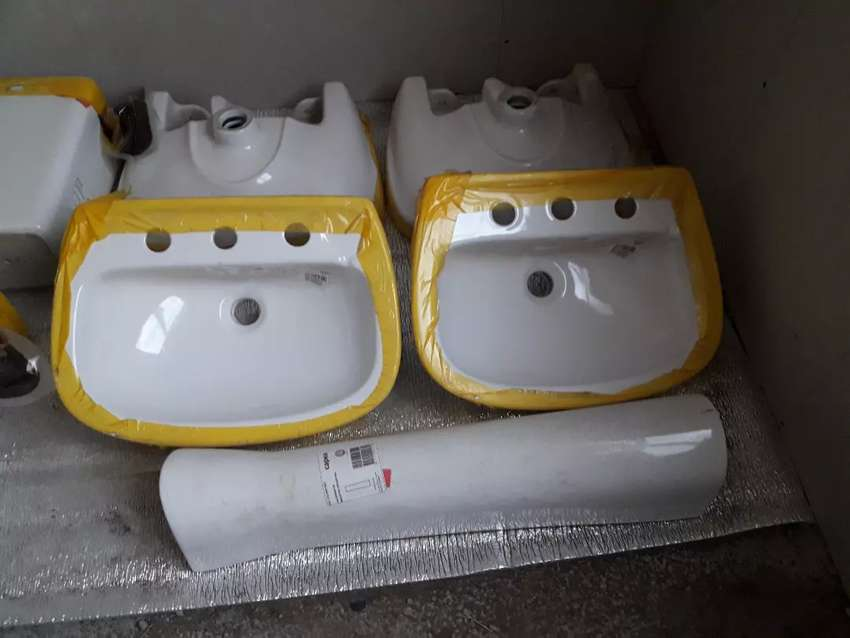 Vendo lavatorios con pie nuevo!! 0