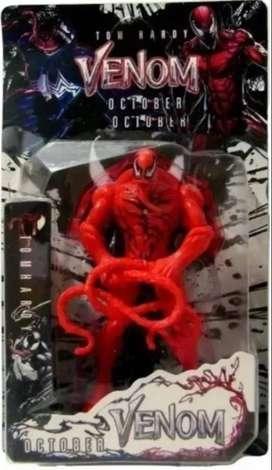 Muñeco Venom Carnage Articulado 18 cm con luz