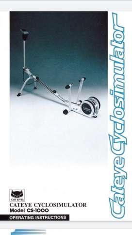 Cyclo Simulador Cateye para Bicicleta