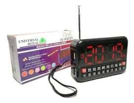 RADIO RELOJ FM Band portable Radio R6023