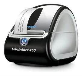 Impresora Termica Dymo 450 de Etiquetas Códigos Adhesivos