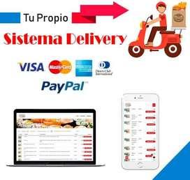 Creamos tu Sistema Delivery Restaurantes,Tienda de Abarrotes,Bodegas  y Otros.