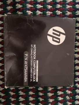 Guaya de seguridad para computador portátil HP